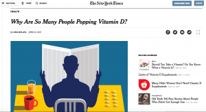 New York Times Vitamin D