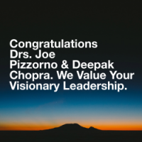 Joe Pizzorno ND and Deepak Chopra MD