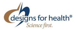 Designs for Health logo